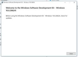 Windows10SDKInstalled